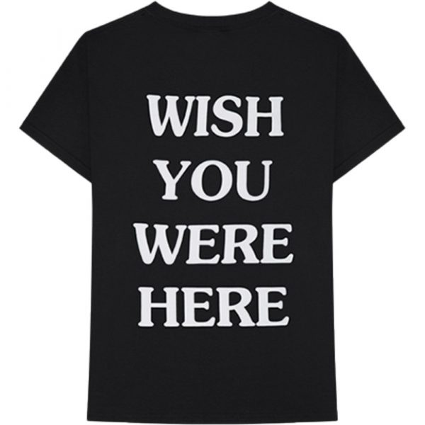astroworld wish you were here t shirt back