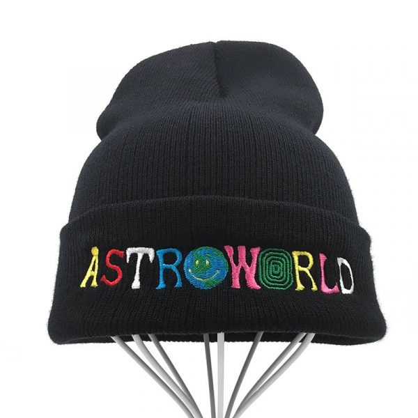 Knitted Astroworld beanie