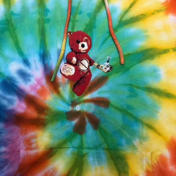 Astroworld Tie Dye Hoodie print