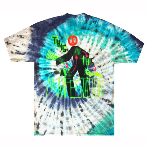 Astroworld Manifestation Shirt back