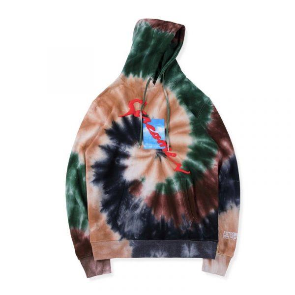 DSM NY Screamer Tie Dye Hoodie front