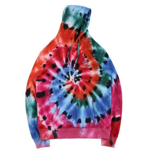 Astroworld Europe Tour Tie Dye Hoodie front