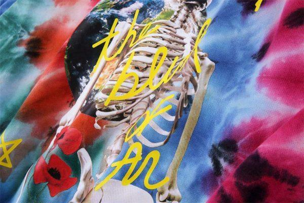 Astroworld Europe Tour Tie Dye Hoodie print 1