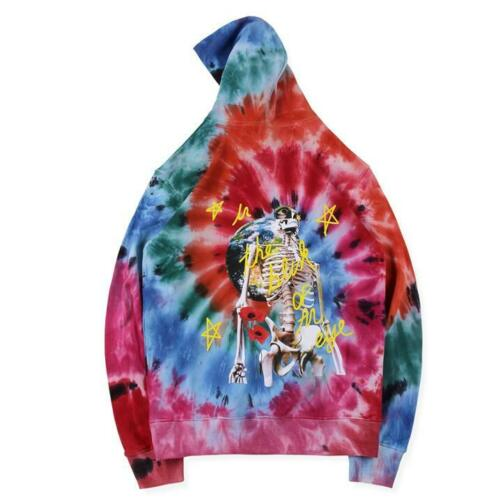 Astroworld Europe Tour Tie Dye Hoodie back