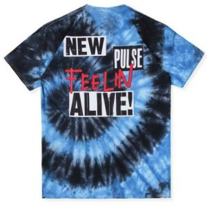 Astroworld Festival Run Blue Tie Dye Feeling Alive
