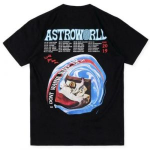 Astroworld tshirt back