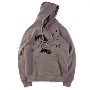 Look Mom I Can Fly Embroidered Hoodie front