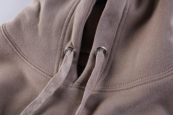 Look mom i can fly Khaki Hoodie closeup front