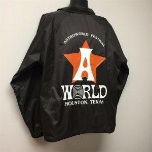 Astroworld Festival Jacket back design