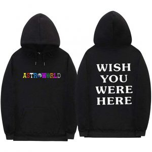 Astroworld Logo wish you were here hoodie