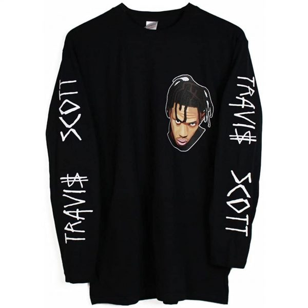 Travis Scott Long Sleeve Astroworld T Shirt