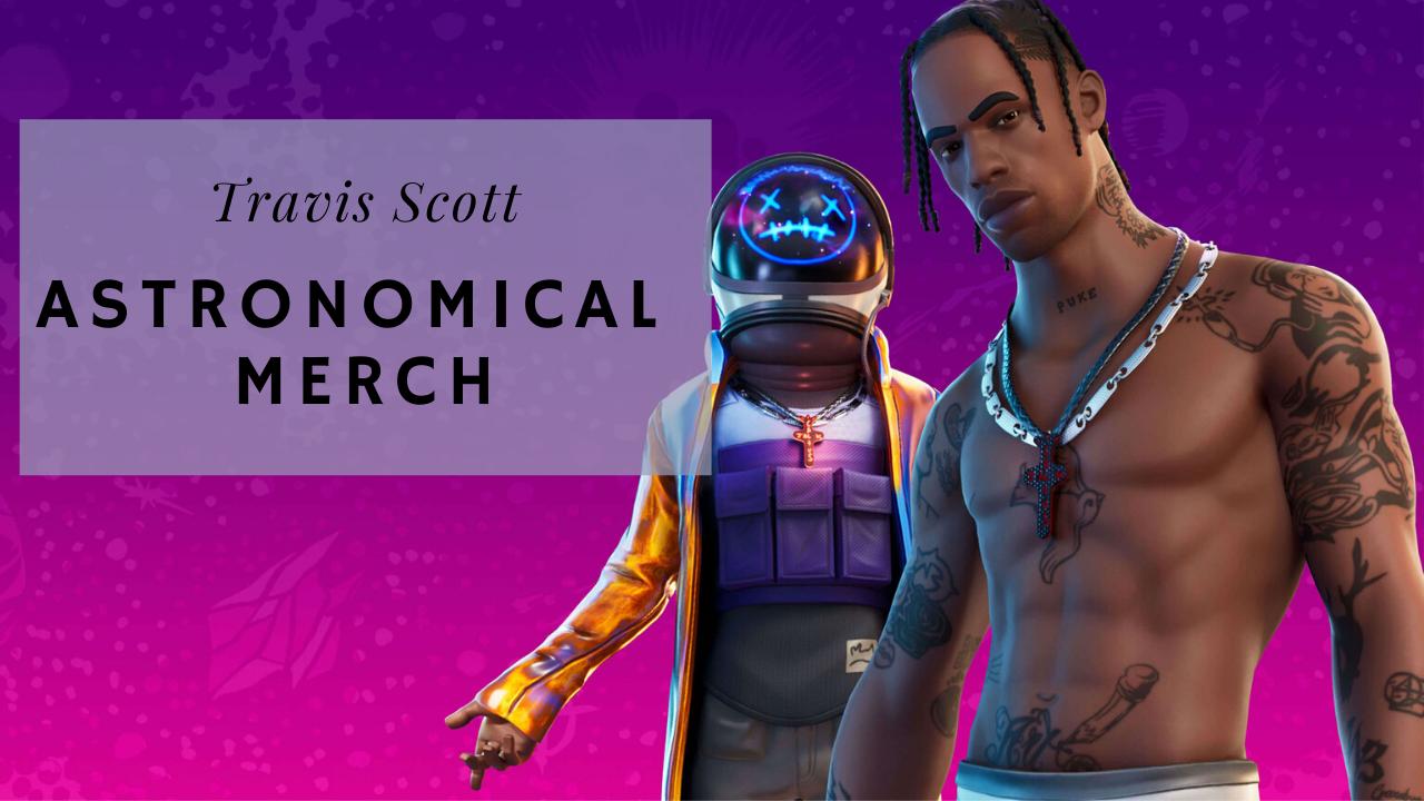 Travis Scott Astronomical Merch